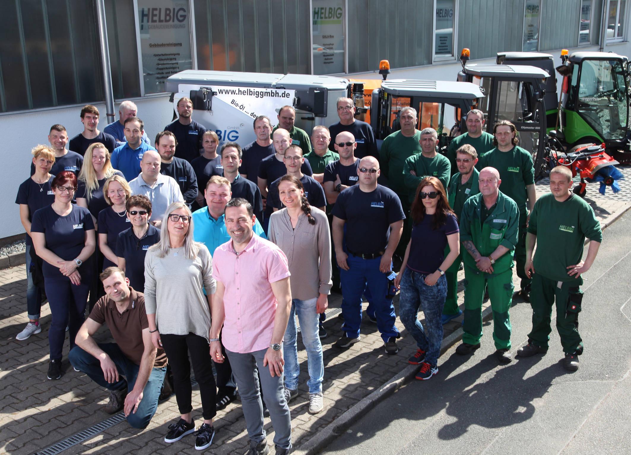 Helbig Gebäudereinigung GmbH - Team